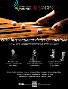 2019 INTERNATIONAL ARTIST COMPETITION